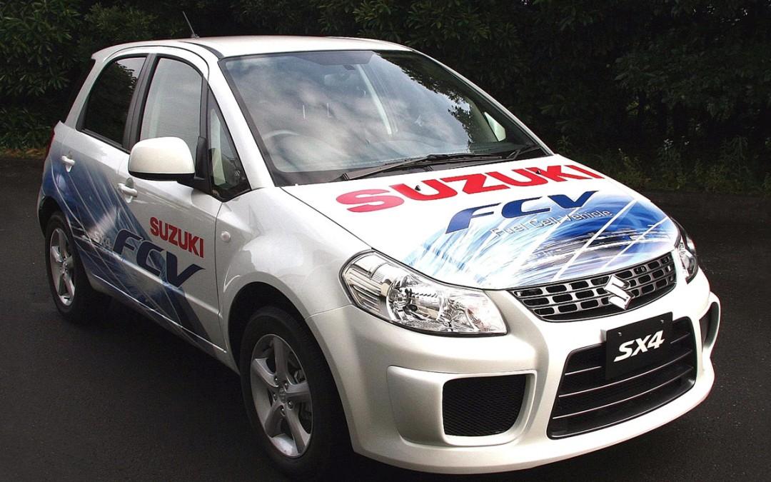 Suzuki SX4 con pila de combustible