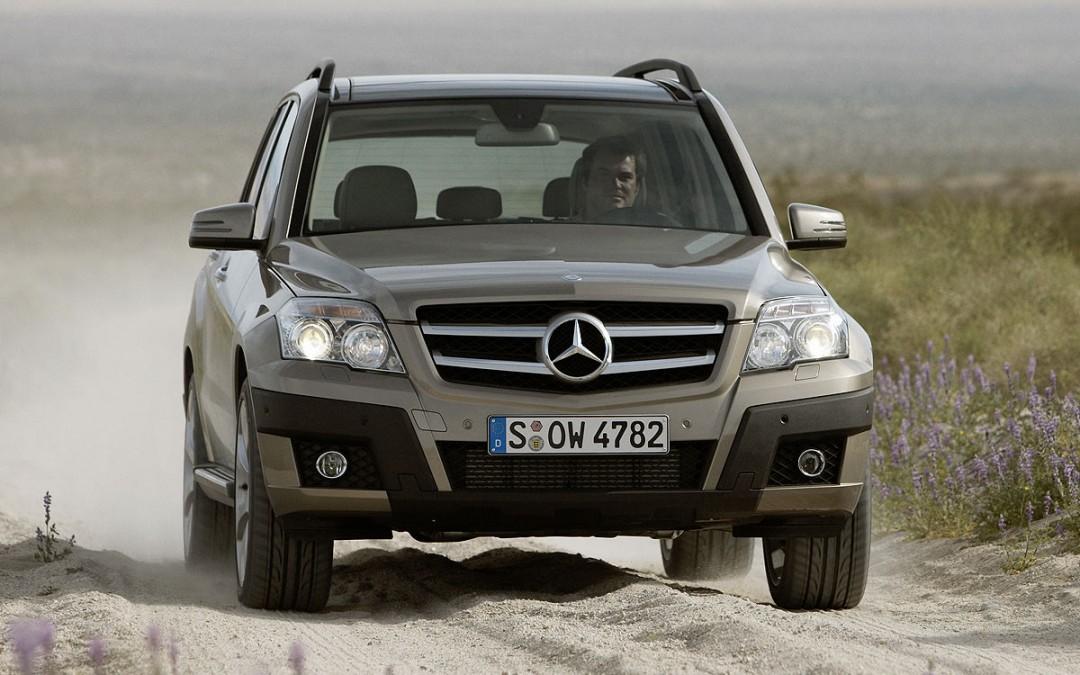 Mercedes-Benz GLK ahora con un motor de gasolina de 306 CV.
