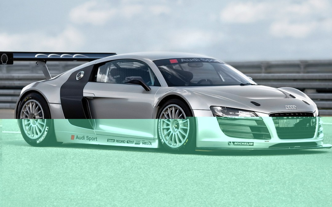"El Audi R8 ""de carreras""!"