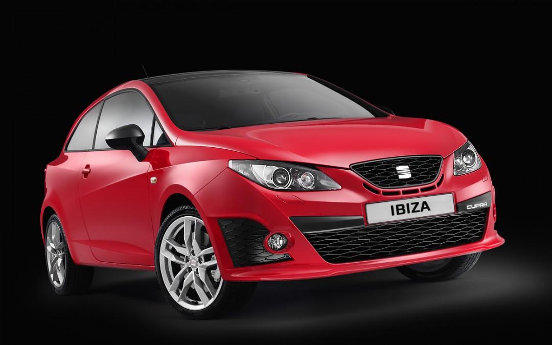 Salón de París. SEAT presenta el Exeo y los Ibiza Cupra y Ecomotive.