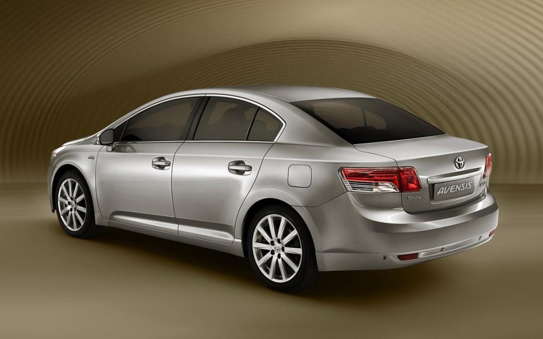 Salón de París 2008. Más imágenes de las novedades de Toyota (Avensis, iQ y Urban Cruiser)