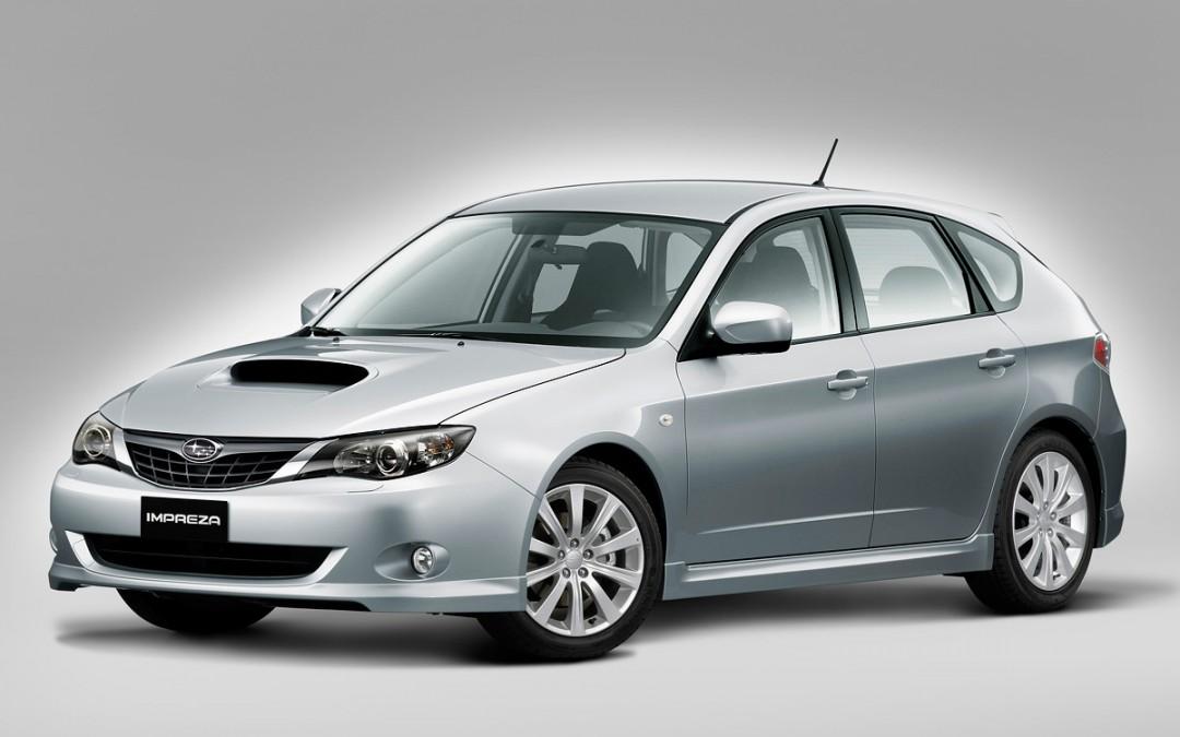 Subaru reduce la gama Impreza!