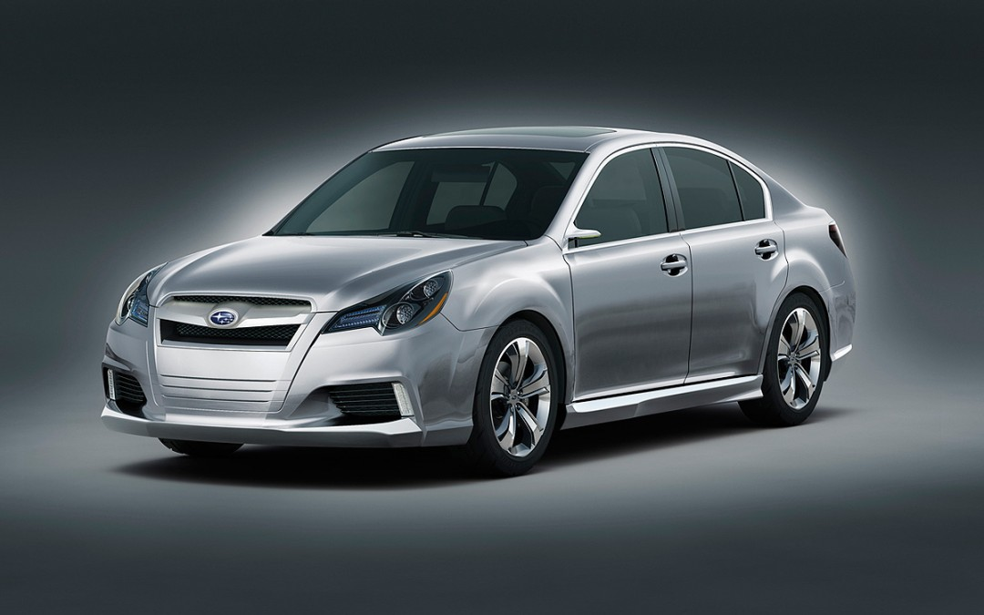 Detroit 2009. Así será el nuevo Subaru Legacy.