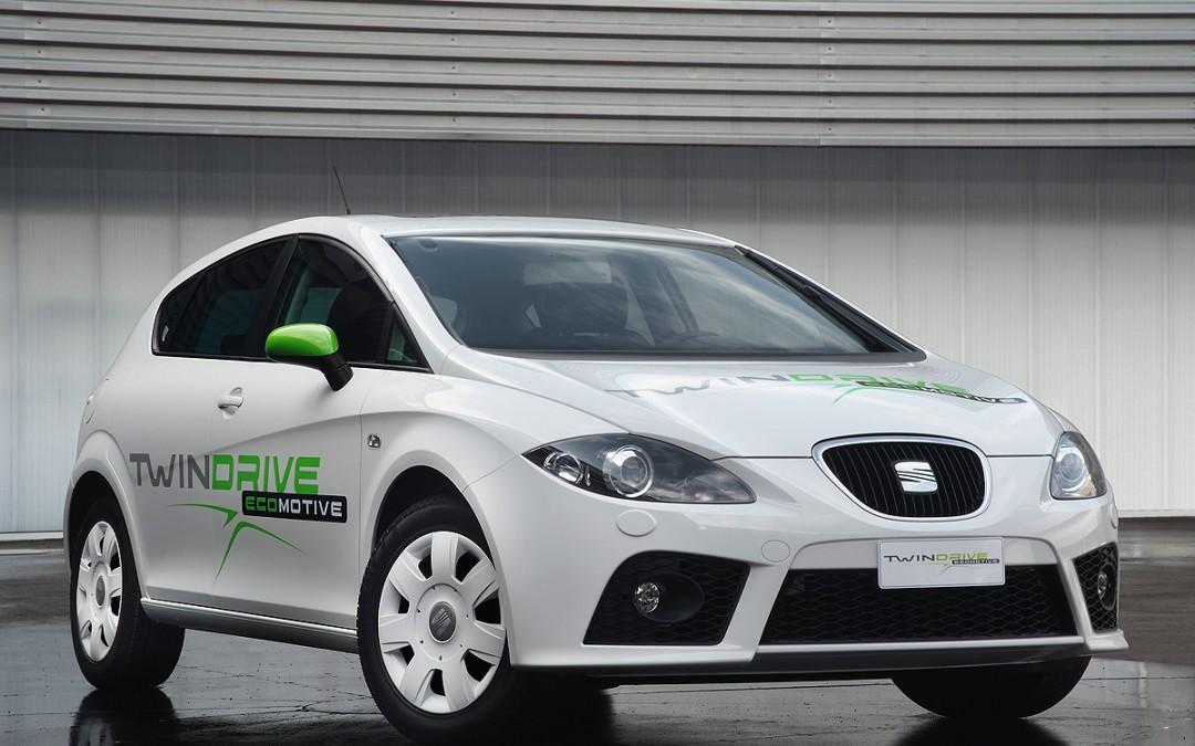 SEAT muestra el León Twin Drive, su proyecto de vehículo eléctrico.