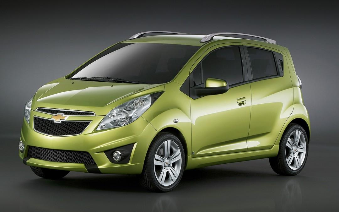 Chevrolet Spark! El modelo que reemplazará al Matiz.