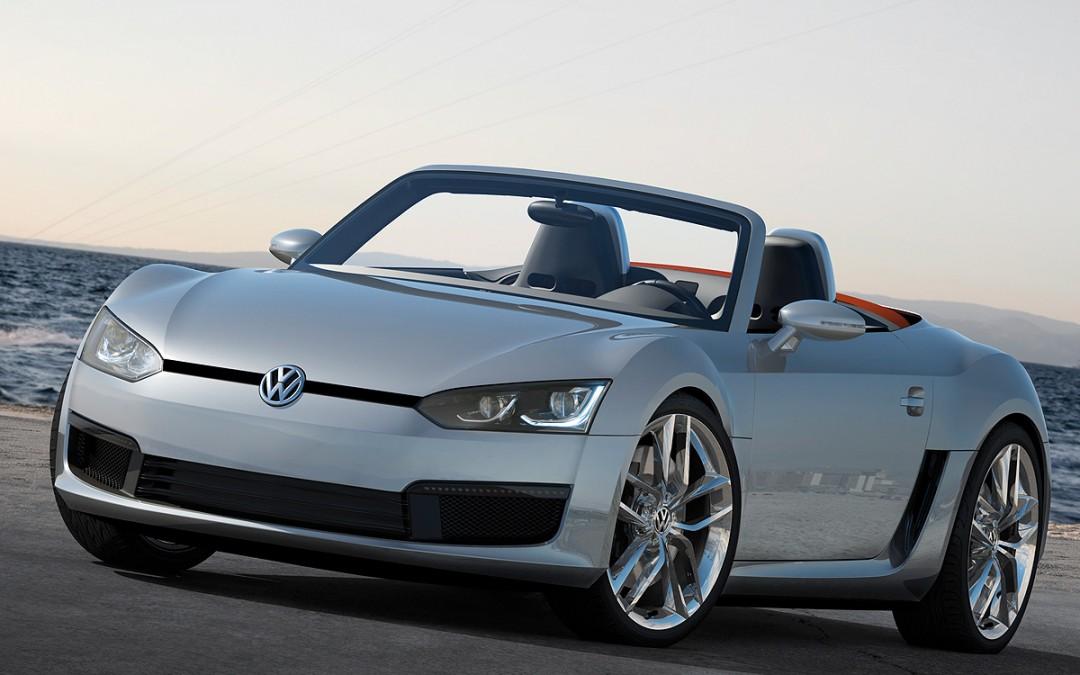 Detroit 2009. Volkswagen Bluesport Roadster, un pequeño y rápido descapotable biplaza Diesel.