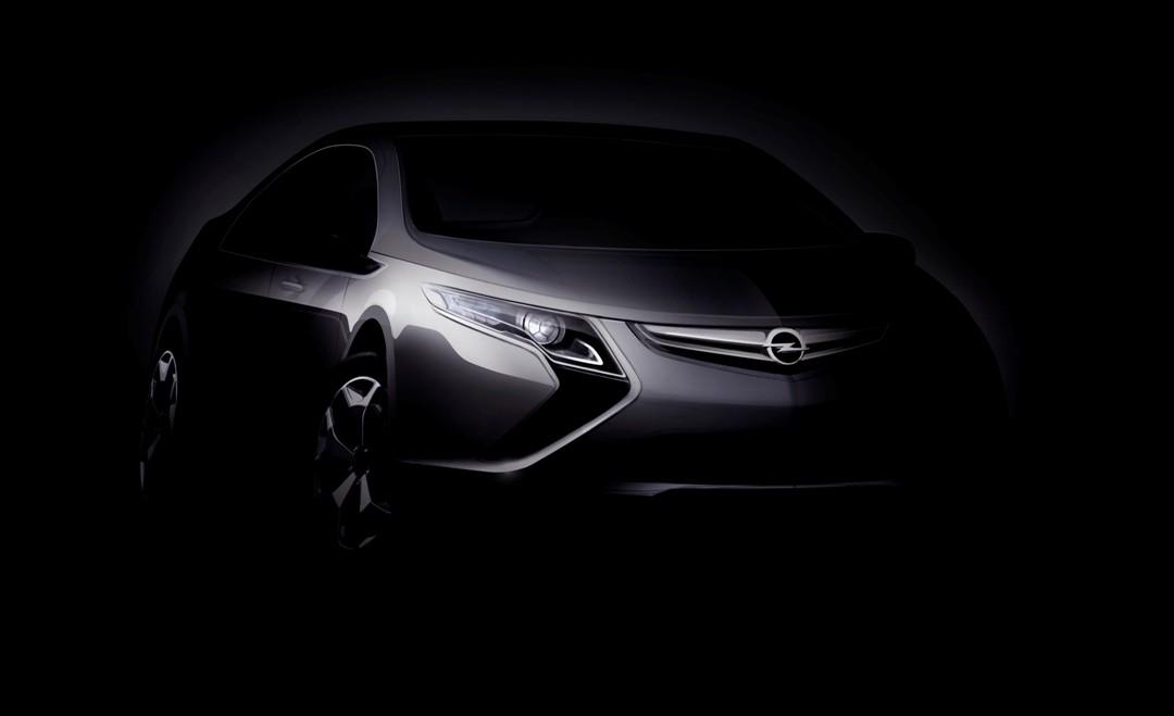 Nuevas imágenes. Así será el Opel Ampera, el eléctrico de Opel con la tecnología del Chevrolet Volt!
