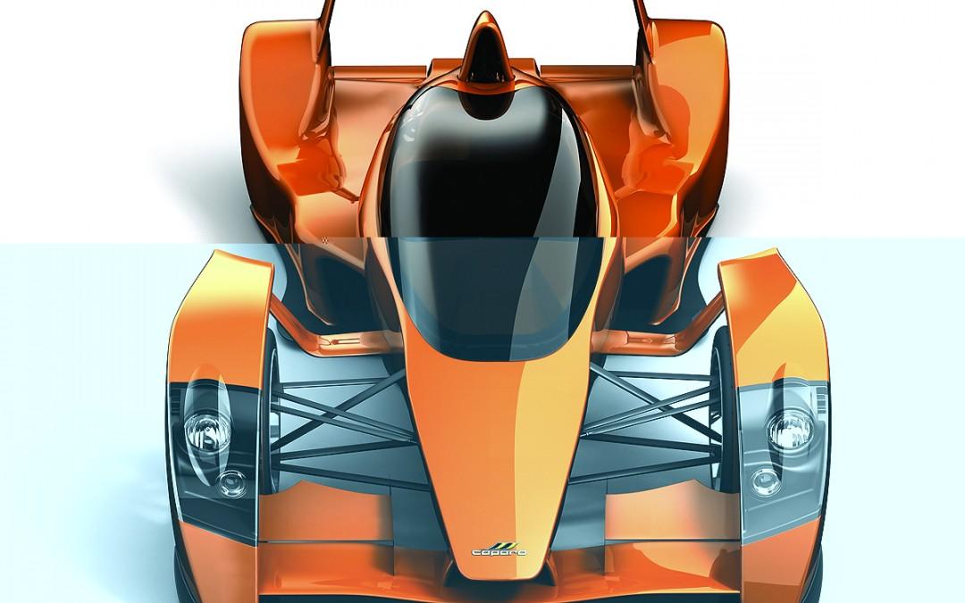 Caparo T1, un verdadero Fórmula 1 de calle.