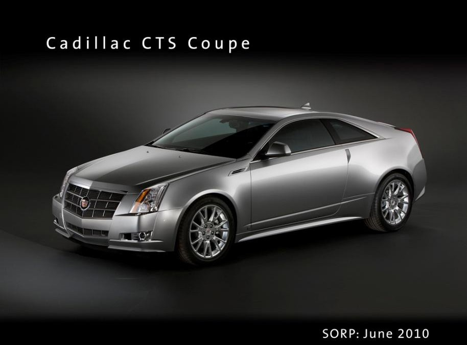 Cadillac CTS Coupe, en venta desde 60.000 €