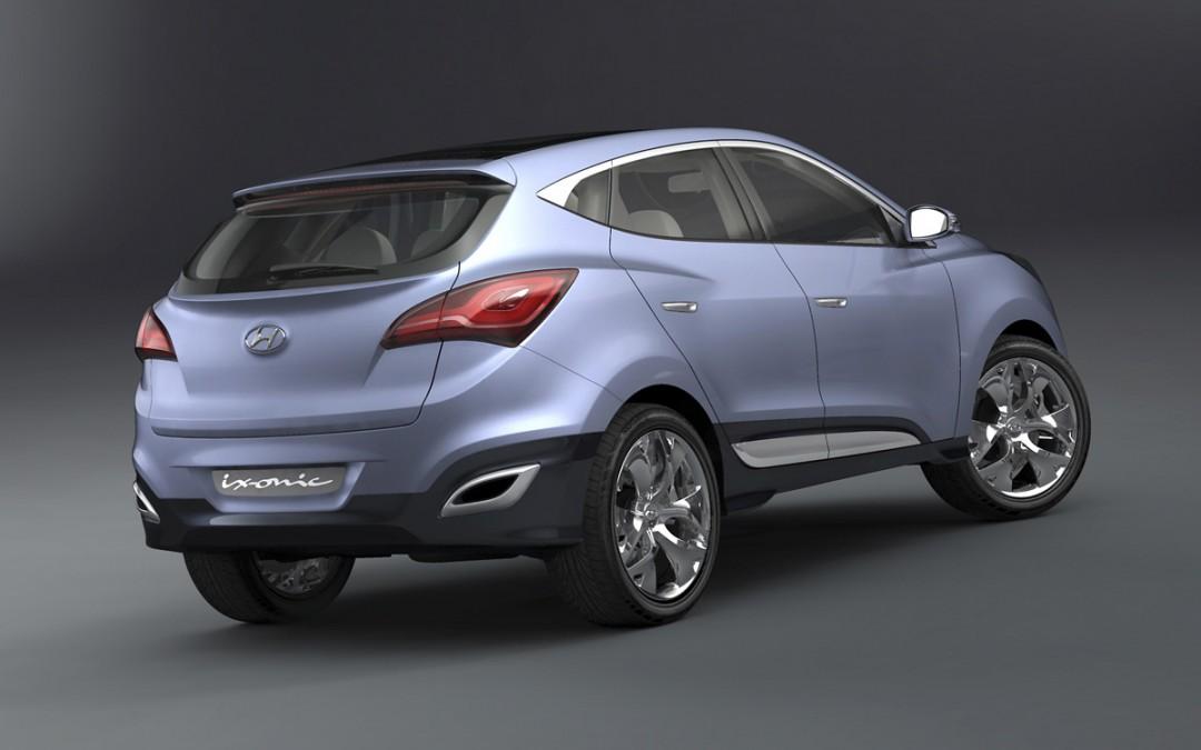 Ginebra 2009: Hyundai ix-onic, el adelanto del próximo Tucson!