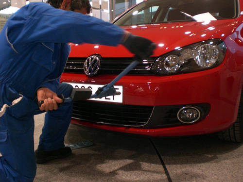 Volkswagen Golf. 100.000 km. Matrícula