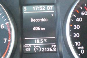 Volkswagen Golf. 100.000 km. Distancia recorrida.