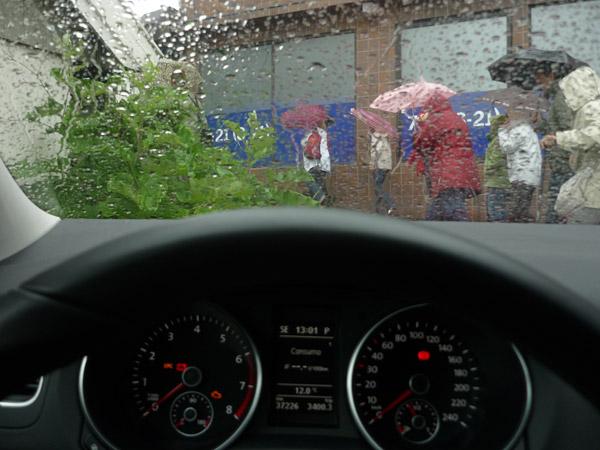 Lluvia. Noveno día. 1 de 4 ó 5.