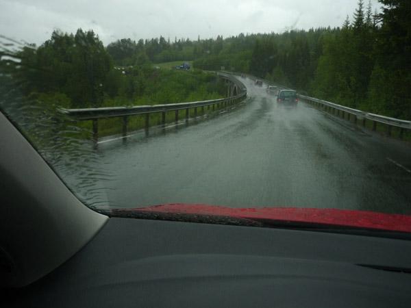Trondheim, en un mar al norte. La lluvia sigue. Noveno día. 3 de 5.