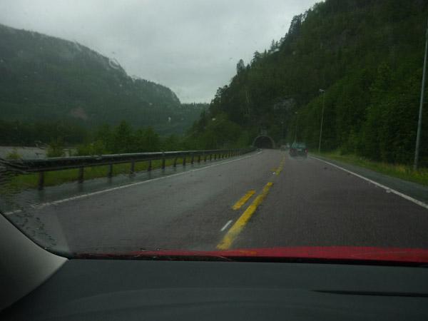 Trondheim. Cambio-carretera