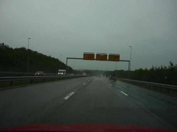 Autopista. Trondheim. Alrededores.