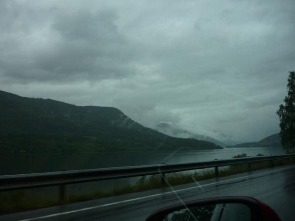Noruega. Pisaje de nubes.