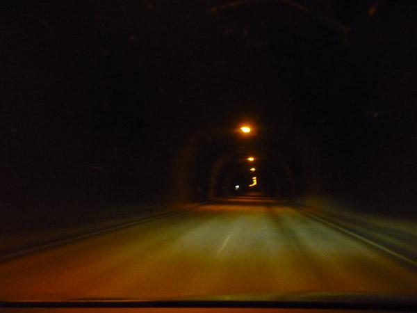 Túnel. Mo i Rana.