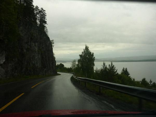Fiordo. Norte de Trondheim.