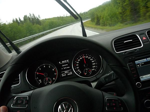 Volkswagen Golf. 100.000 km. Cumple 37.777 kilómetros