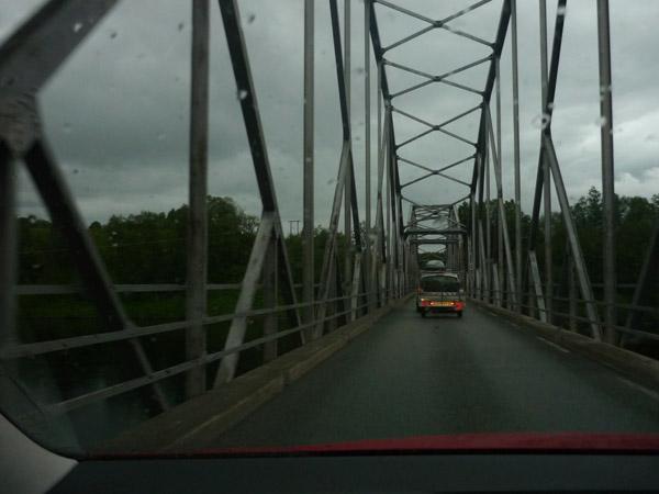 Puente. Noruega. Norte Trondheim.
