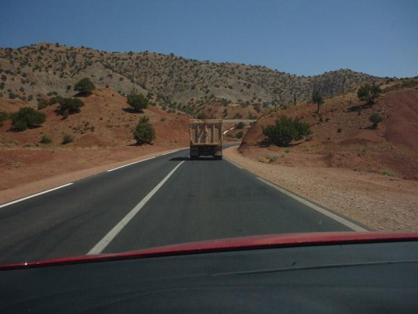 Agadir - Marrakech. Carretera. 002.