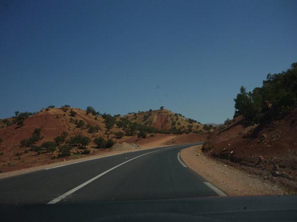 Agadir - Marrakech. Carretera. 003.
