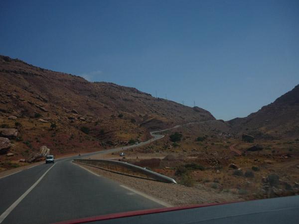 Agadir - Marrakech. Carretera. 004.
