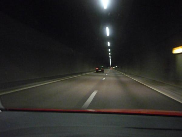 Túnel. Oslo. Noruega. Del Trópico al Ártico.