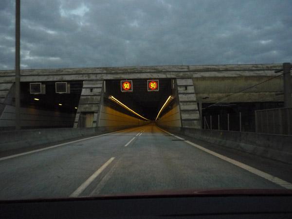 Túnel Dinamarca - Suecia. Del trópico al Círculo Polar. 100.000 km en Volkswagen Golf.