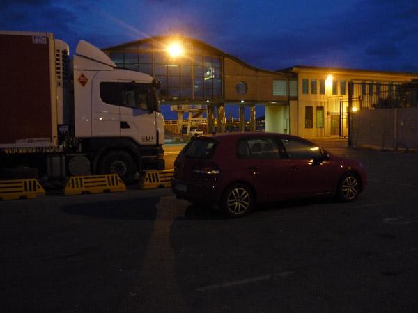 Puerto de Algeciras. Espera del ferry.