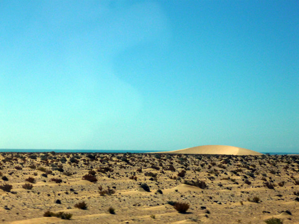 Sahara occidental. Paisaje 3.