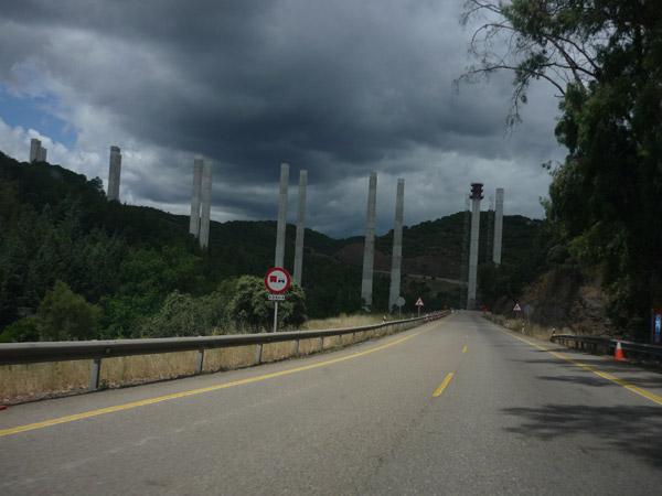 Despeñaperros. Puente en construcción. 1.