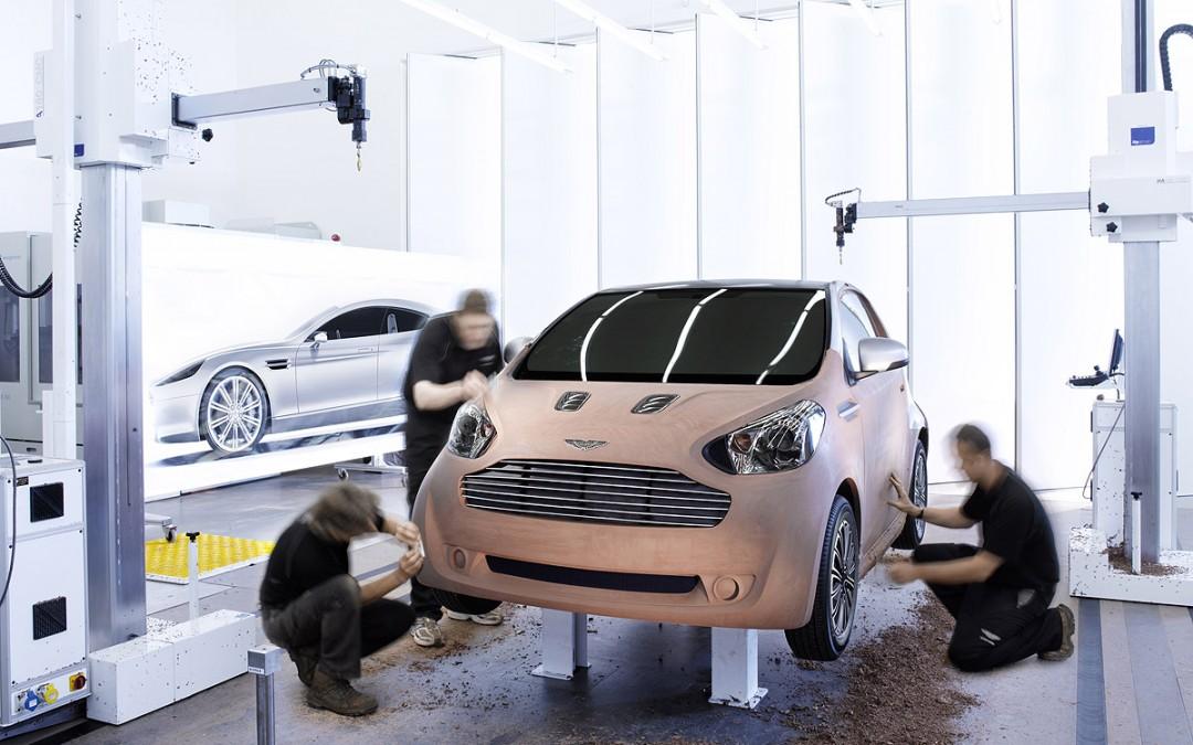 Aston Martin Cygnet desde 40.000 Euros. Versión eléctrica para 2012.