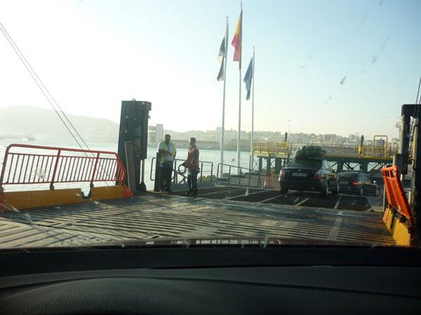 Ceuta. Salida Ferry.
