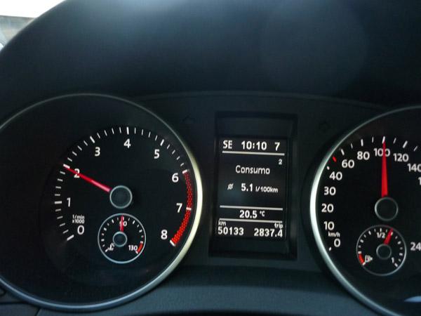 Consumo a 100 km/h de crucero