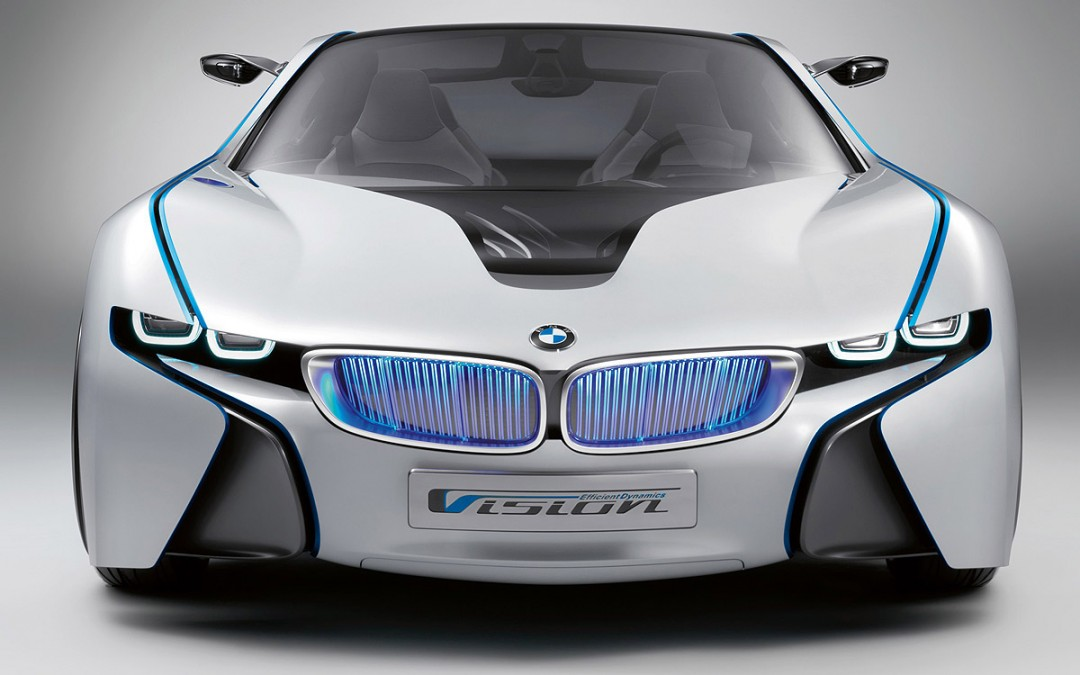 BMW Vision EfficientDynamics: 356 CV y 3,76 l/100 km.