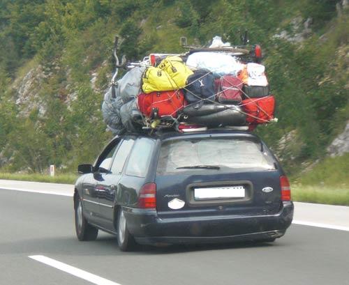 El coche más cargado del mundo