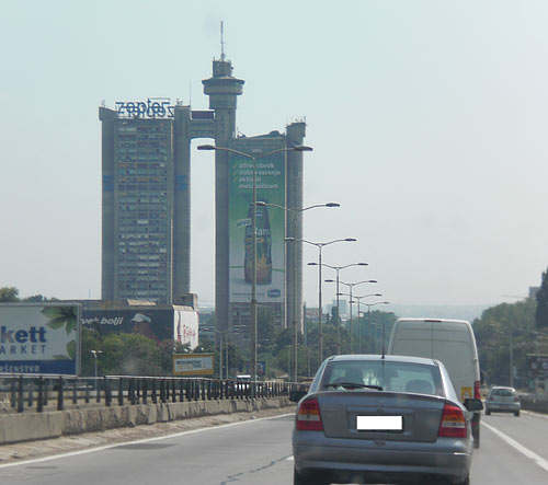 Entrada a Belgrado