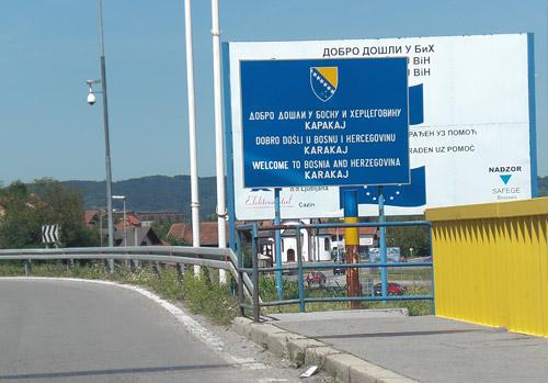7.400 km comprimidos en el tiempo. Cuarto capítulo. Camino a Bosnia (4 de 4).