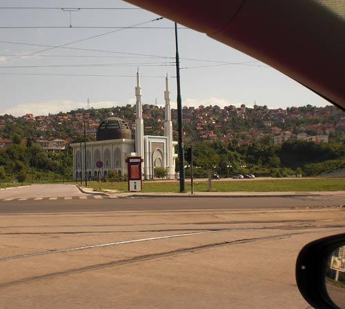Mezquita en Sarajevo