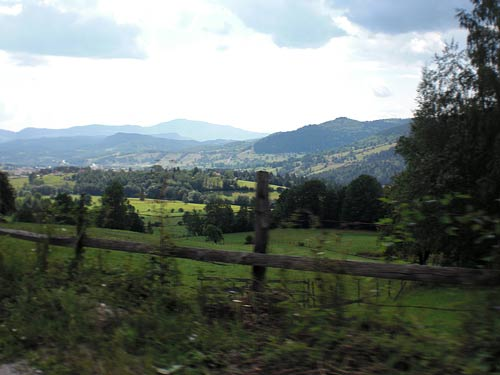 Paisaje en Bosnia