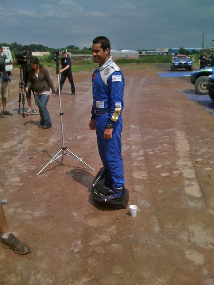 Lucas Cruz. Dakar 2010. 01