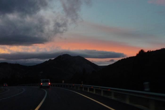 Últimas Luces. Carretera Nacional 211