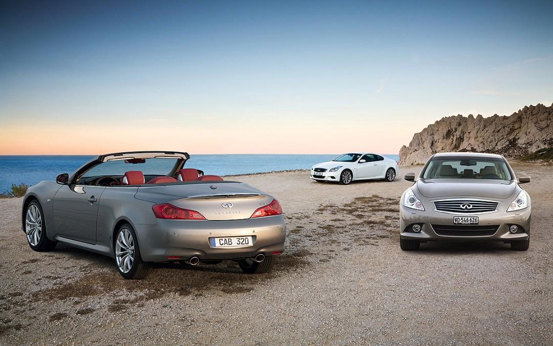 Nueva gama Infiniti G 2010: cambios en el interior y en el equipamiento.