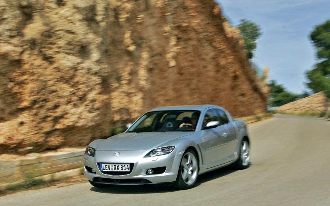 Mazda deja de comercializar el RX-8 en España.