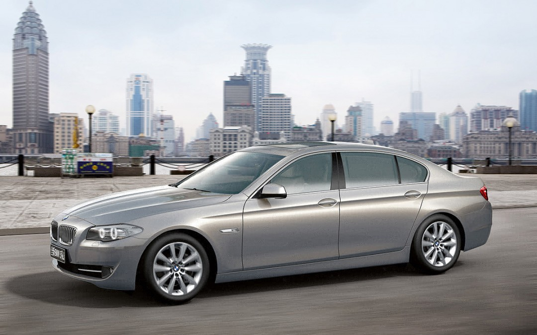 BMW Serie 5 Li, una variante para China con una longitud 14 cm mayor.