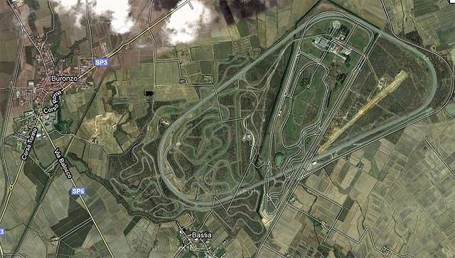 Presentación Alfa Romeo Giulietta. Circuito de Balocco y coche camuflado.