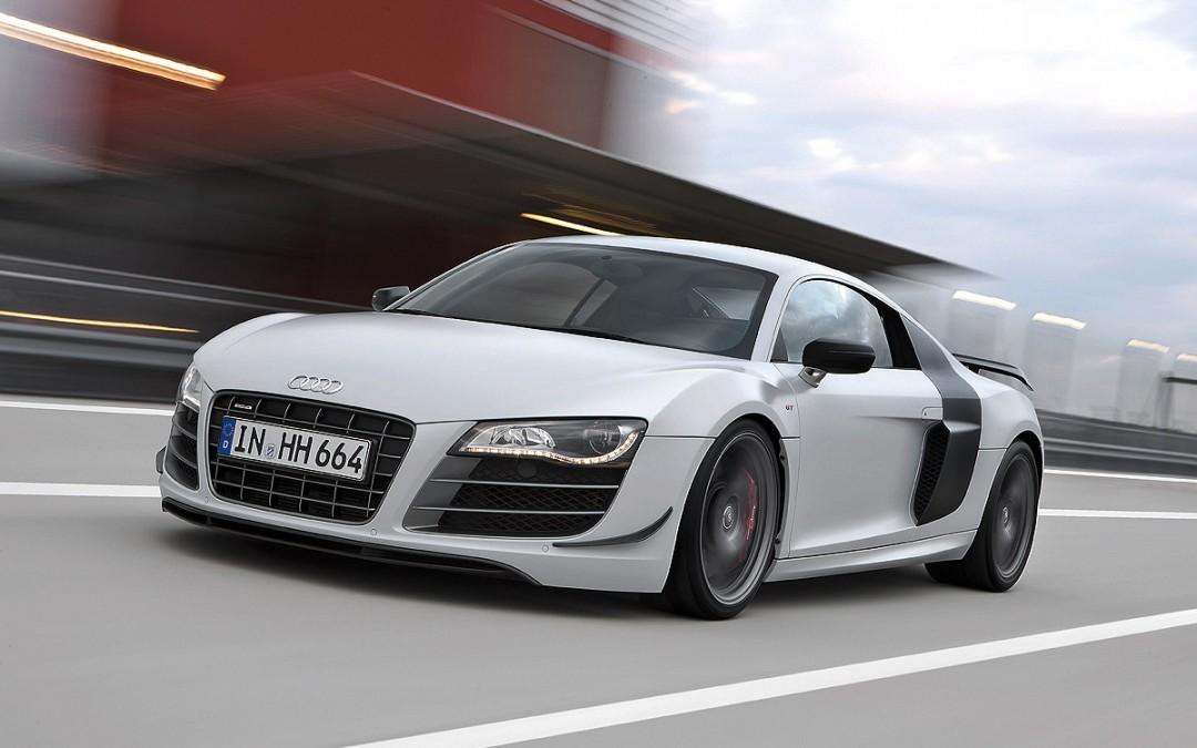 Audi R8 GT. 207.000 € por el R8 más potente y deportivo.