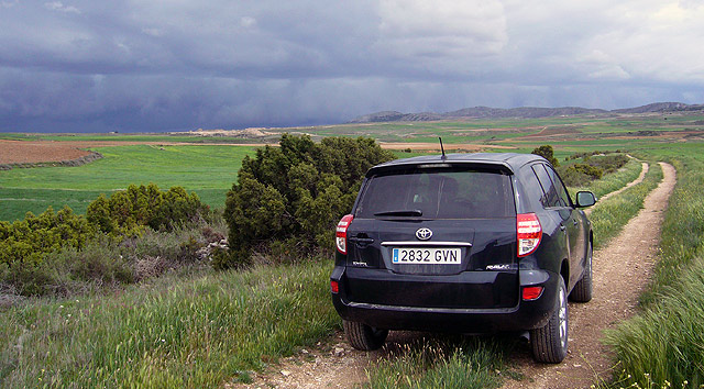 Presentación. Toyota RAV4 modelo 2010. Matarraña.
